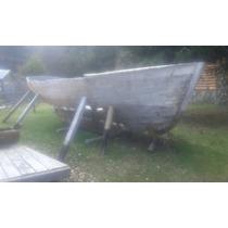 Barco De Madera Cedro Para Restaurar O Repuesto Antiguo