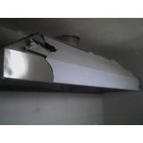Coifa Aço Inox Soldado - Cozinha Industrial - Preço M2