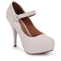 Sapato Boneca Salto Feminino Vizzano - Branco