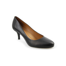 Sapato Feminino Scarpin 100% Couro Salto Forrado Lindíssimo