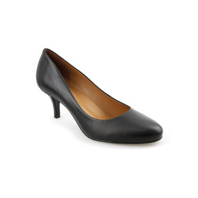 Sapato Feminino Scarpin Couro Vegetal Confortável Promoção