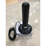 Antenna Vhf Para Radio Incluye Base Magnética Y Cable
