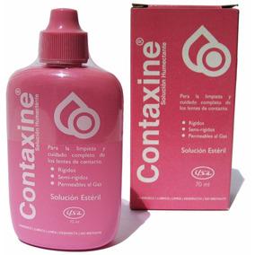 Contaxine Solucion Humectante Para Lente De Contacto Rigido