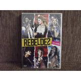 Dvd Rebeldes Brasil Ao Vivo - Original