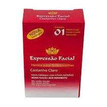 Henna Para Sobrancelha Expressão Facial Castanho Claro 2,5g