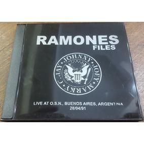 Ramones Live At Obras Sanitarias 28/04/91 Cdr. Bad Religion