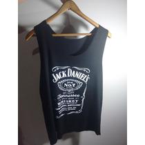 Camiseta Regata Feminina Jack Daniels + Brinde
