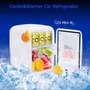 12v Coche Mini Congelador Refrigerador Calentador 4l...