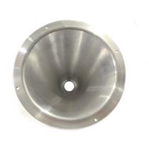 Corneta De Alumínio Cone Longo De Rosca Boca Jarrão D250