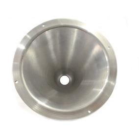 Corneta De Alumínio Cone Longo Médio De Rosca P/ D200, D250x