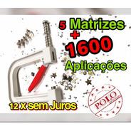 Aplicador De Pérolas, Spikes Fácil Aplicação 4,5,6 E 8mm Kit