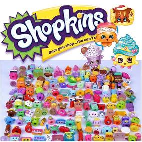Kit Com 20 Pçs Shopkins Diversos - Não Repetidos - Avulsos