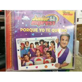 Cd Disney Junior Express - Topa - Porque Yo Te Quiero 2017