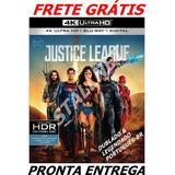 Bluray + 4k Ultra Hd Justice League Lacrado Frete Grátis