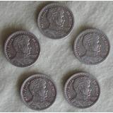 Monedas Chilenas Antiguas-1 Peso ( 1954 A 1958 )colección