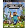 Minecraft Juego Ps3 !! Entrega Inmediato