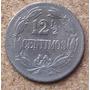 Escasa 12 1/2 Céntimos (locha) De 1936