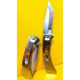 Canivete Zebu Barretos Inox C/ Trava 301 Presilha Bolso