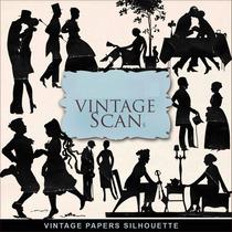 Figuras Vintage Para Scrapbook Decoupage Sublimación,