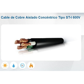 Cable Concentrico 4x10 Incable