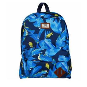 mochilas vans azul turquesa