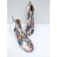 Zapatos/botines Artesanales Dama Hecho A Mano En Colombia