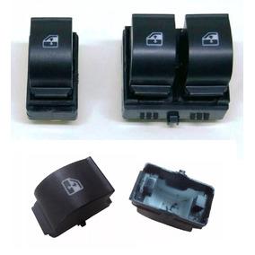 Kit Interruptor Botão Vidro Elétr Fiat Idea Original +5capas