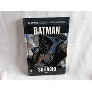 Batman Silencio Parte Uno Dc Comics