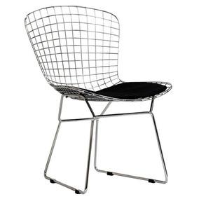 Cadeira Bertoia Em Aço Cromado - Design