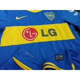 Camiseta Oficial De Boca Jrs 2010 - 2011 Envio Gratis!