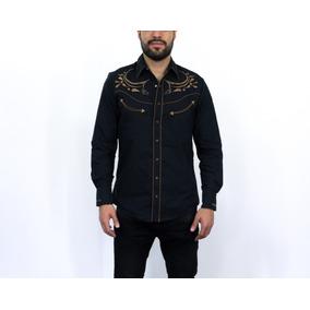 Camisa Caballero Rafael Amaya Negro Algodón/pol 080ca01