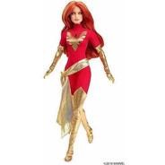 Boneca Barbie Fênix Ruiva Marvel Collector Top Nova 2019