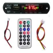 Modulo Usb Mp3 Con Bluetooth Control Remoto Y Cables