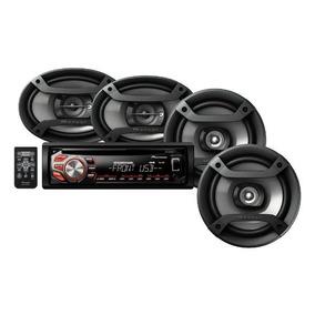Kit Pioneer Stereo Mas Parlantes