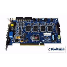Placa De Captura Dvr Geovision Gv-800(s) Pci 16 Câmeras