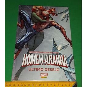 Homem Aranha - Último Desejo - Capa Dura Spiderman Lacrado