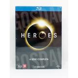 Blu Ray Heroes Série Completa 17 Discos Du/leg Novo Lacrado