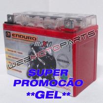 Bateria Gel Moto Honda Cb500 Comet 250 Mirage Laser Kansas