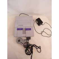 Antigo Video Game Super Nintendo - Funcionando