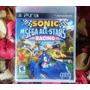 Sonic & Sega All Stars Racing - Mídia Física - Semi Novo Ps3