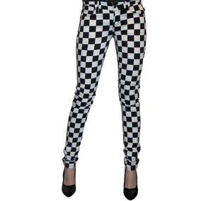 Pantalon Cuadros Ajedrez Tripp Is6235p Punk Rocker Gothic