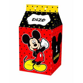 Caixa Milk Leite Personalizada Aniversário Festa Infantil