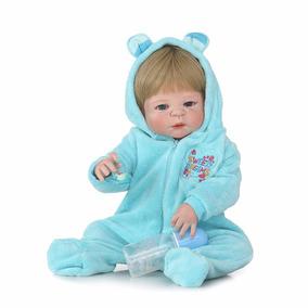 Bebê Reborn Boneco Menino Detalhes Reais Presente 12x Ref251