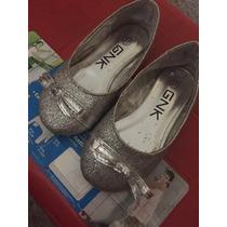Zapatos Escarchados Para Niña