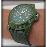 Reloj Militar Army Verde