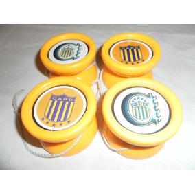 Lote De 4 Yo-yo De Rosario Central Tipo Duncan De Plastico