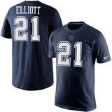 Nike Vaqueros Dallas Nfl Playera 21 Elliot Nueva Tallas