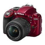 Camara Nikon D3300 Reflex Nueva