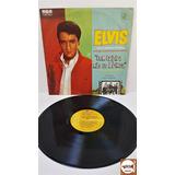 Lp Elvis Presley - Com Caipira Não Se Brinca