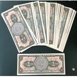 Billete Antiguo De 1 Peso Banco De Mexico C/u